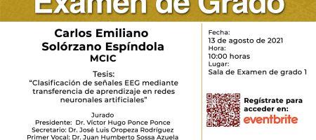 Examen - Carlos Emiliano Solorzan