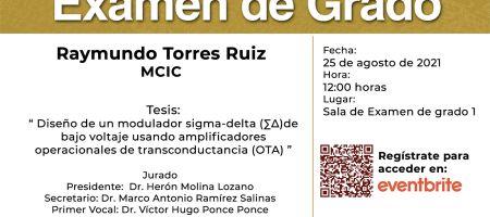 Examen - Raymundo Torres Ruiz